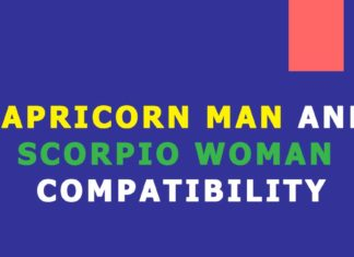 Capricorn man scorpio woman