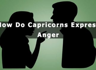 How Do Capricorns Express Anger