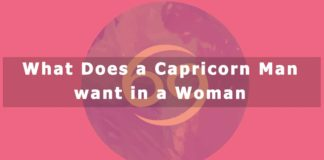 What Does a Capricorn Man want in a Woman