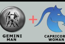 gemini man capricorn woman