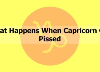 What Happens When Capricorn Get Pissed