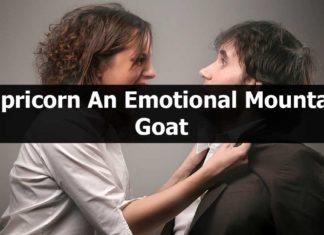 Capricorn-An Emotional Mountain Goat