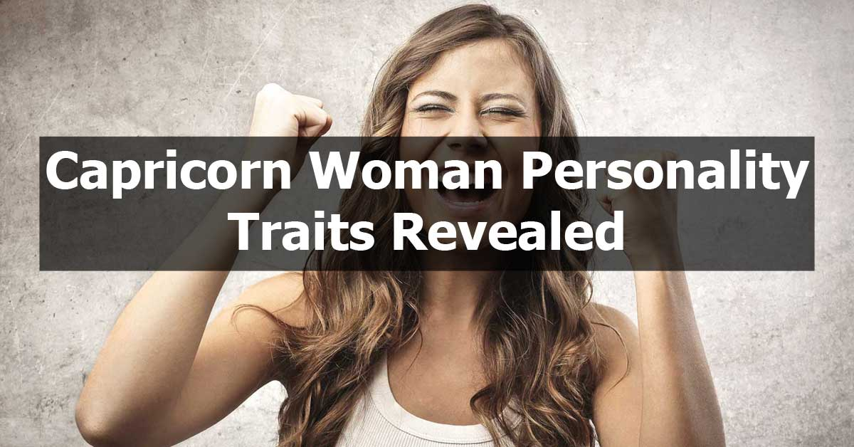 Capricorn Woman Personality Traits