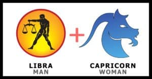 Libra man Capricorn woman
