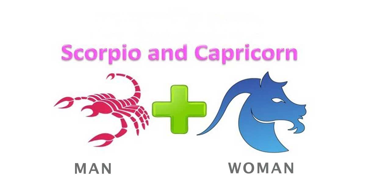 Scorpio man and Capricorn woman