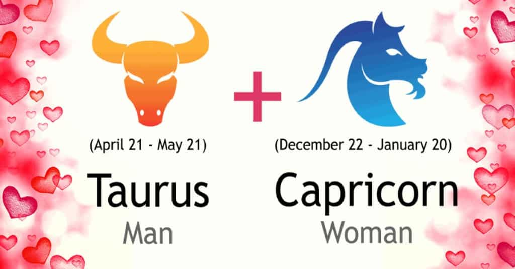 Taurus Man and Capricorn Woman