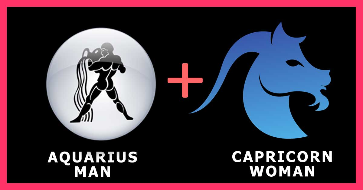 Aquarius man Capricorn woman