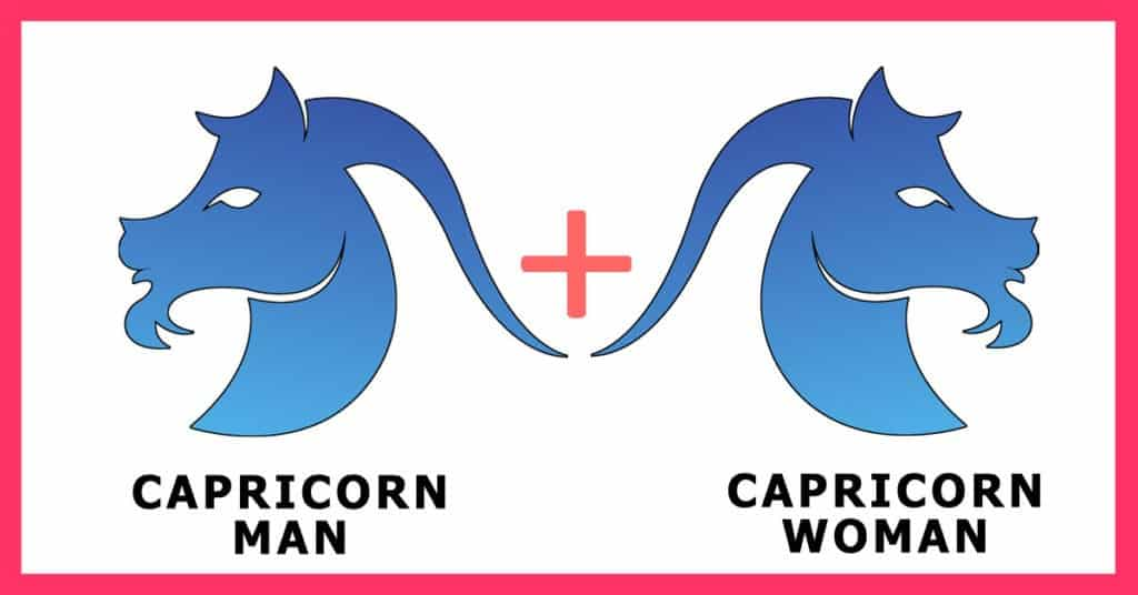 Capricorn man and capricorn woman in bed