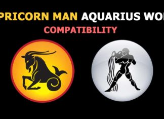 Capricorn man Aquarius woman