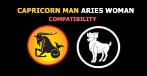 Capricorn Man Aries Woman
