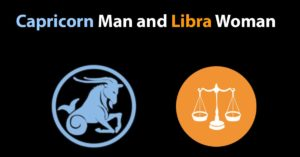 capricorn man libra woman