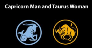capricorn man taurus woman