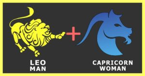 Leo man Capricorn Woman