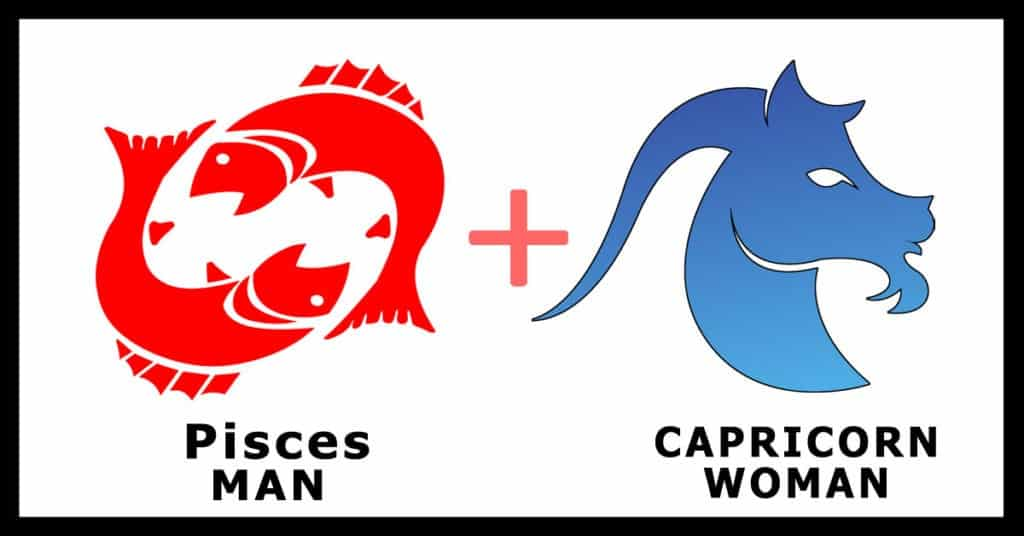 pisces man capricorn woman