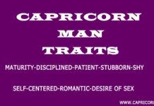 Capricorn Male Personality Traits