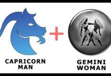 Capricorn Man and Gemini Woman
