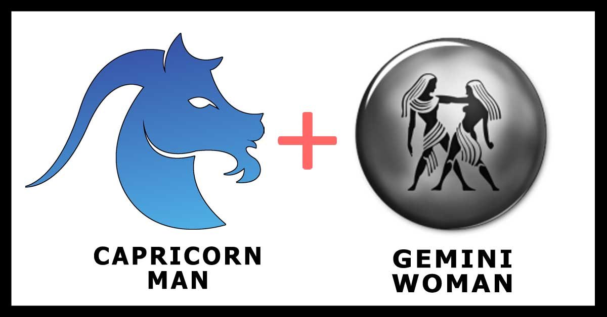 Capricorn Man and Gemini Woman