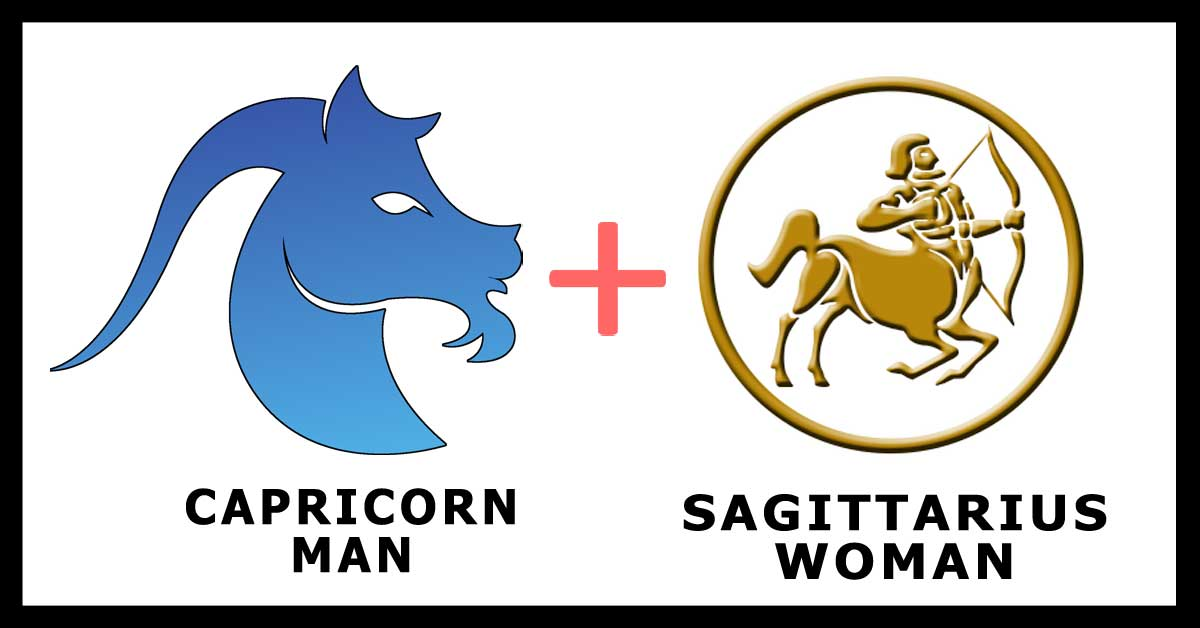 Capricorn Man and Sagittarius Woman