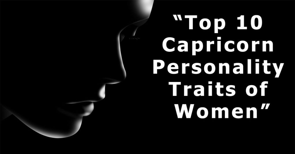 Capricorn Personality Traits female