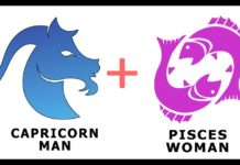Capricorn man and Pisces woman